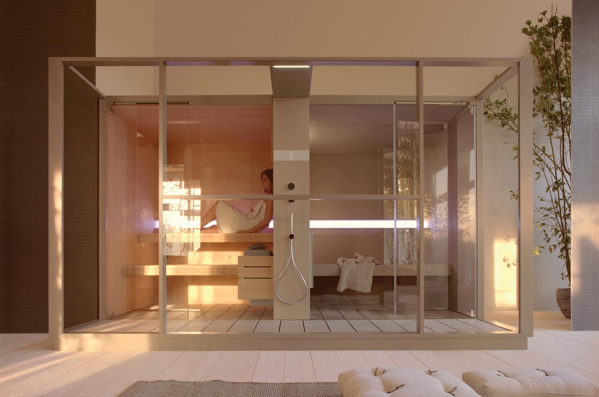 Sistema sauna e hammam logica effegibi