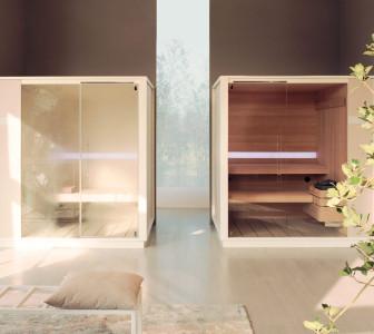 One H + One S Facilmente abbinabili per creare ambienti Spa