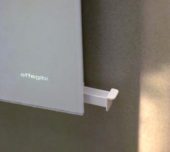 Touch&Steam Dettaglio del cassetto porta essenze per l'aromaterapia