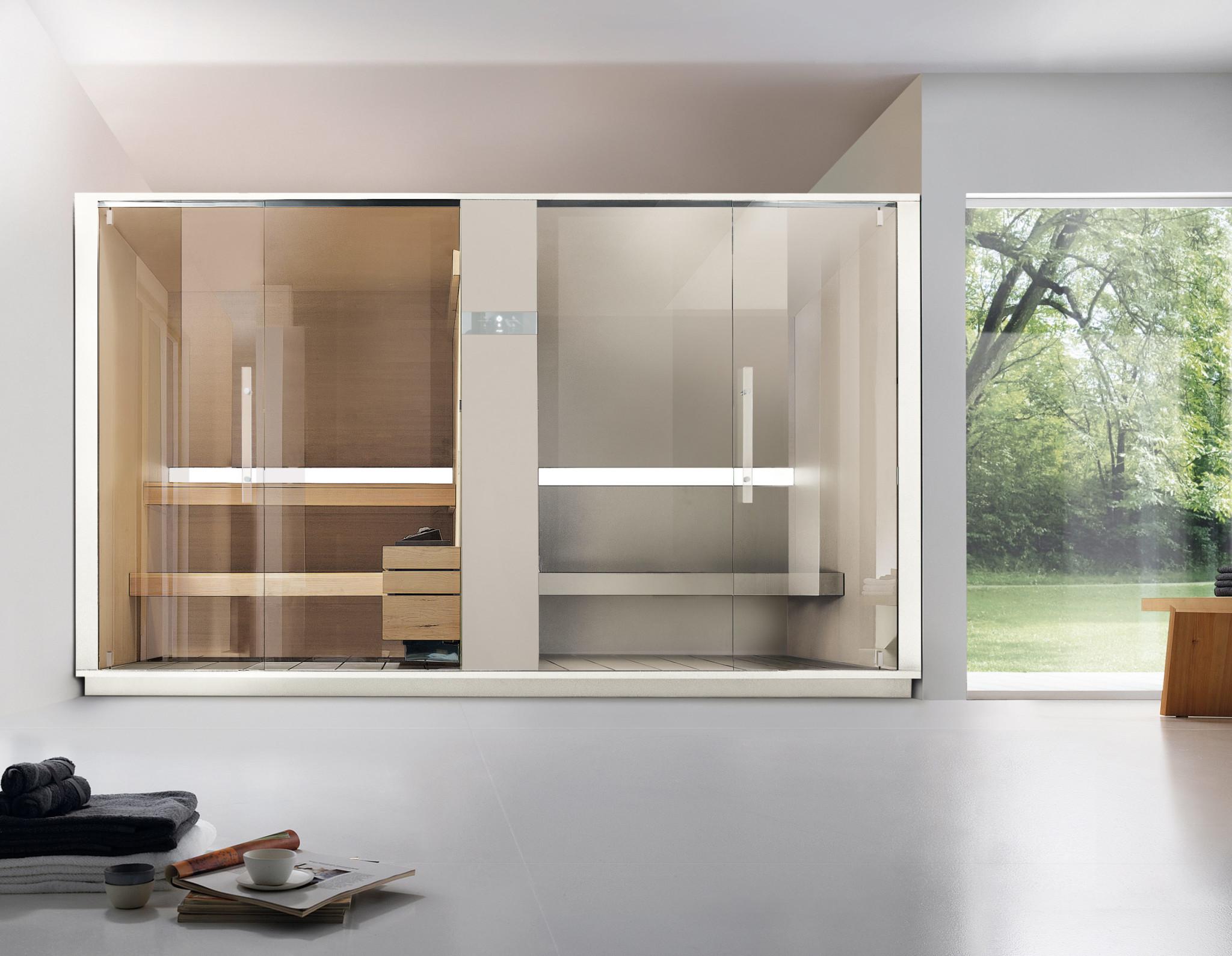 Sistema sauna e hammam Logica SH - Effegibi