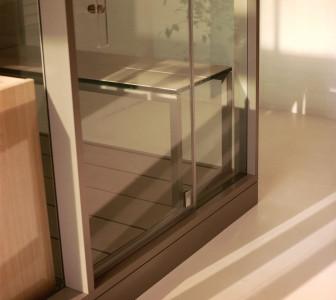 Mid Porte in vetro temperato da 8 mm