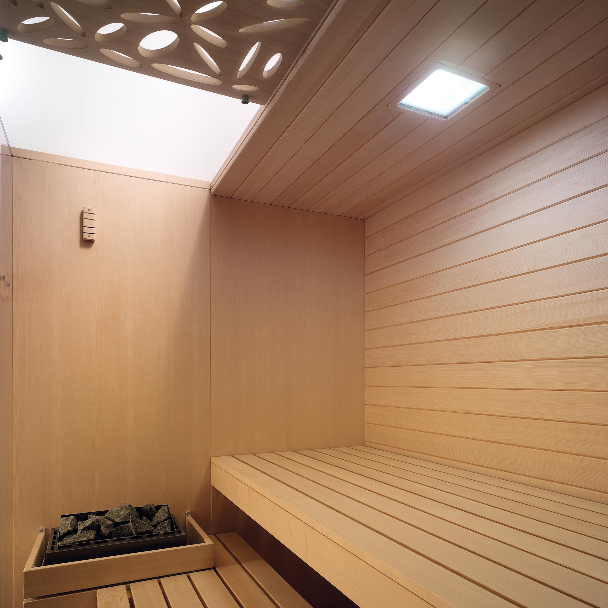 Sky Modello Deco. Dettaglio soffitto in vetro