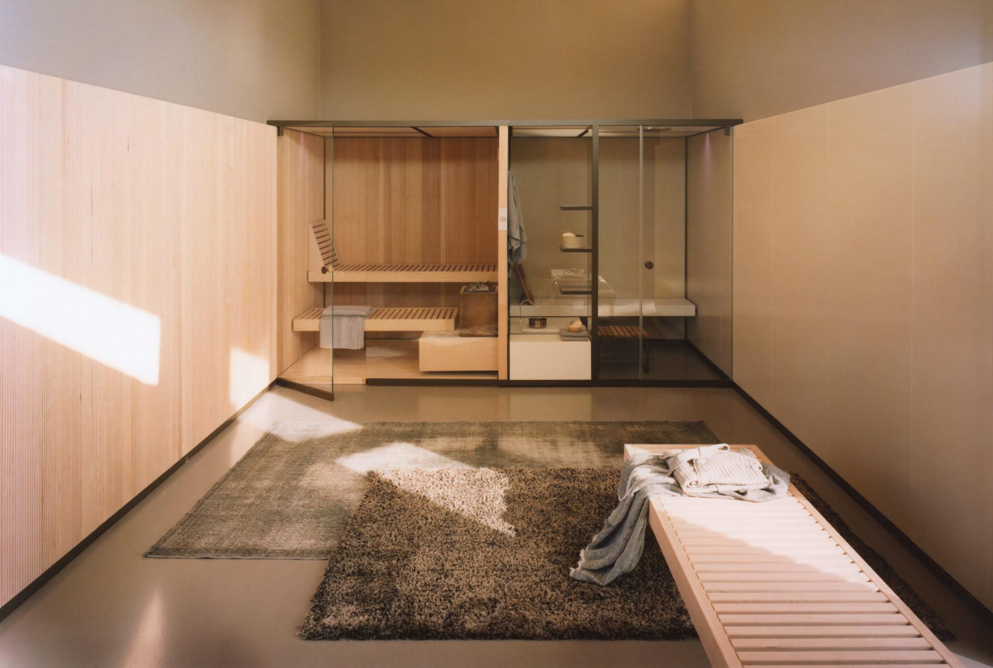 Sistema sauna e hammam BodyLove - Effegibi