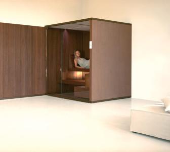 BodyLove S Finitura in legno massiccio termotrattato con boiserie esterna